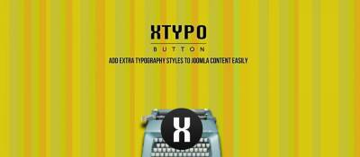 Xtypo Button
