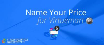 Name Your Price for Virtuemart