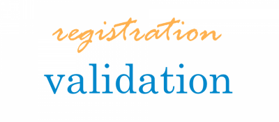 Registration Validation