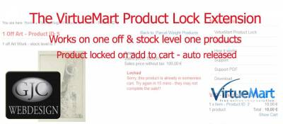 Product Checkout Lock for VirtueMart