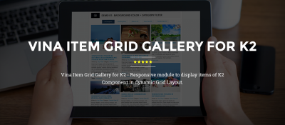 Vina Item Grid Gallery for K2
