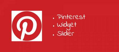Pinterest Widget Slider