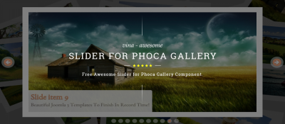 Vina Awesome Slider for Phoca Gallery