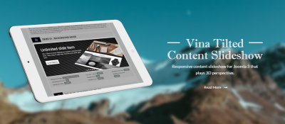 Vina Tilted Content Slideshow