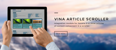 Vina Article Scroller