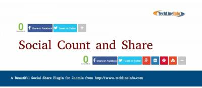 Social Count and Share
