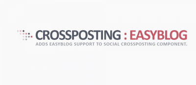 EasyBlog Support for Social Crossposting