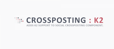 K2 Support for Social Crossposting