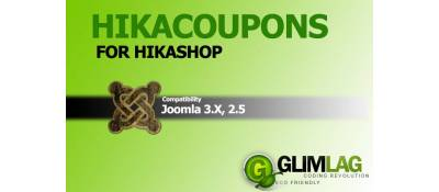 HikaCoupons for Hikashop