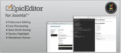 EpicEditor for Joomla
