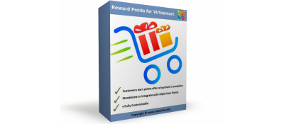 Reward Points Virtuemart