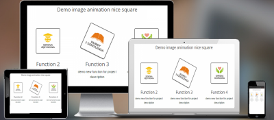 image animation nice square