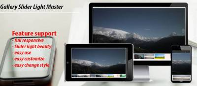 gallery slider light master