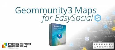Geommunity Map for Easysocial