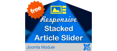 Responsive Stacked Article Slider