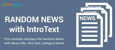 RandomNews with IntroText