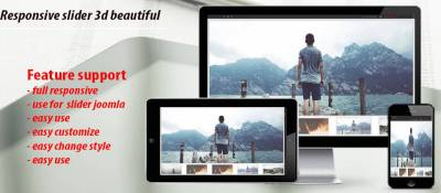 responsive slider 3d beautiful