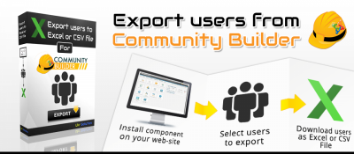 Export users from Community Builder to Excel or csv file