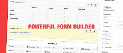 Geek Form Builder
