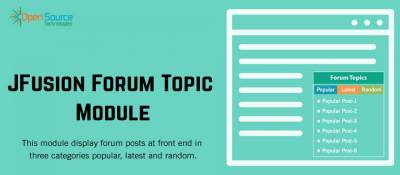 Jfusion Forum Topic