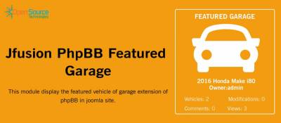 Jfusion PhpBB Featured Garage