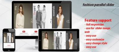 fashion parallel slider beautiful
