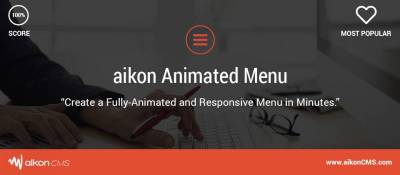 aikon Animated Menu