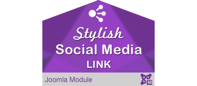 Stylish Social Media Link