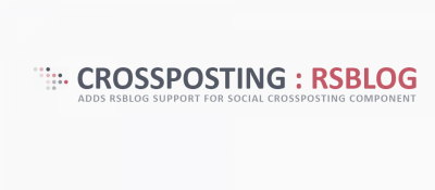 RSBlog Support for Social Crossposting