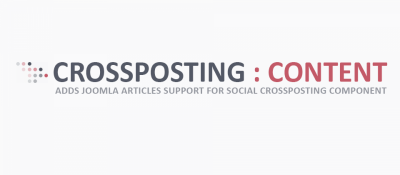 Content Support for Social Crossposting