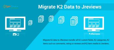 Migrate K2 data to JReviews