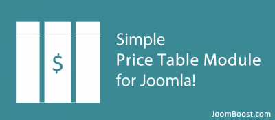 Easy Price Table