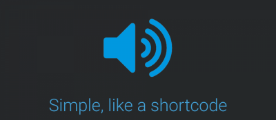 Simple Audio Player - Shortcode