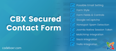 CBX Secured Contact Form For Joomla