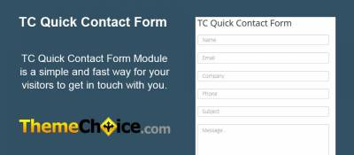 TC Quick Contact Form