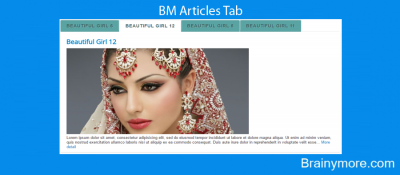 BM Articles Tab