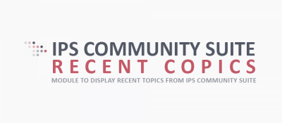 IPS Community Suite Recent Topics