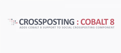 Cobalt 8 Support for Social Crossposting