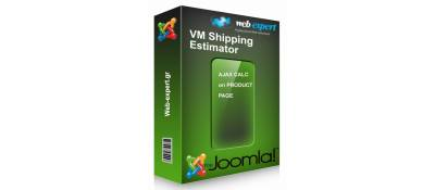 Shipping Estimator for Virtuemart