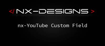 nx-YouTube Custom Field