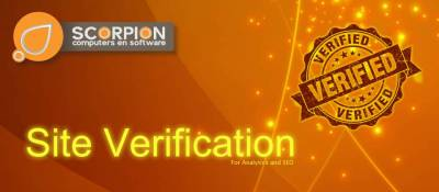 Scorpion Site Verification