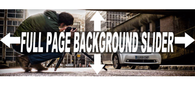 Full Page Background Slider - Lite Version