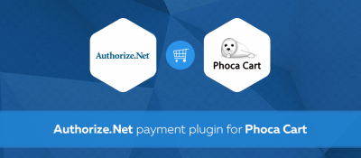 Authorize.Net for Phoca Cart