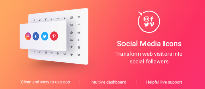 Elfsight Social Media Icons