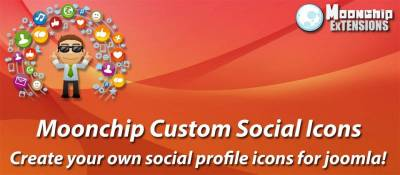 Moonchip Custom Social Icons
