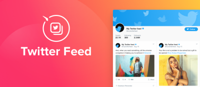 Elfsight Twiter Feed