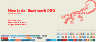 Nice Social Bookmark Pro