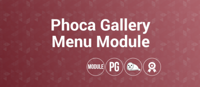 Phoca Gallery Menu