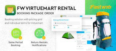 FW VirtueMart Rental