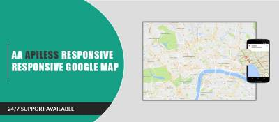 AA Apiless Responsive Google Map